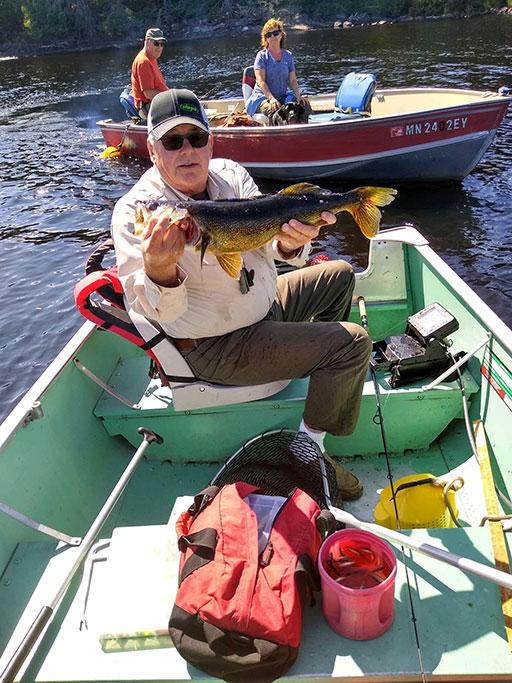 Walleye Fishing at Latreille Lake